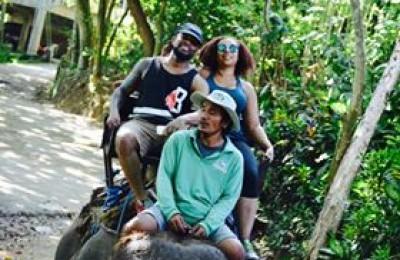 Bali Elephant Ride Sunset Tour