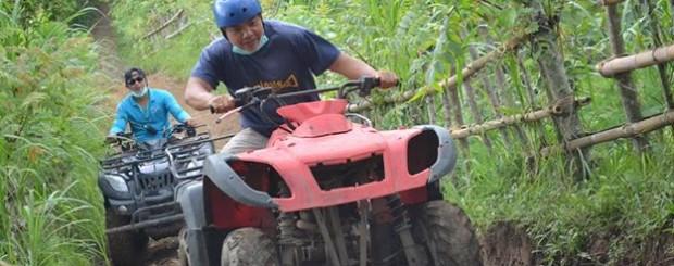 Bali ATV & Tanah lot temple tour